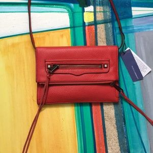 Rebecca Minkoff Red Pebbled Crossbody